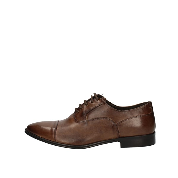 Struttura Lace up Brown