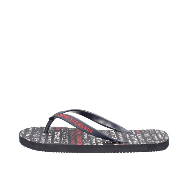 Armani Exchange Sandals Blue