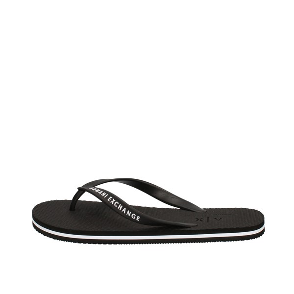 Armani Exchange Sandals Black