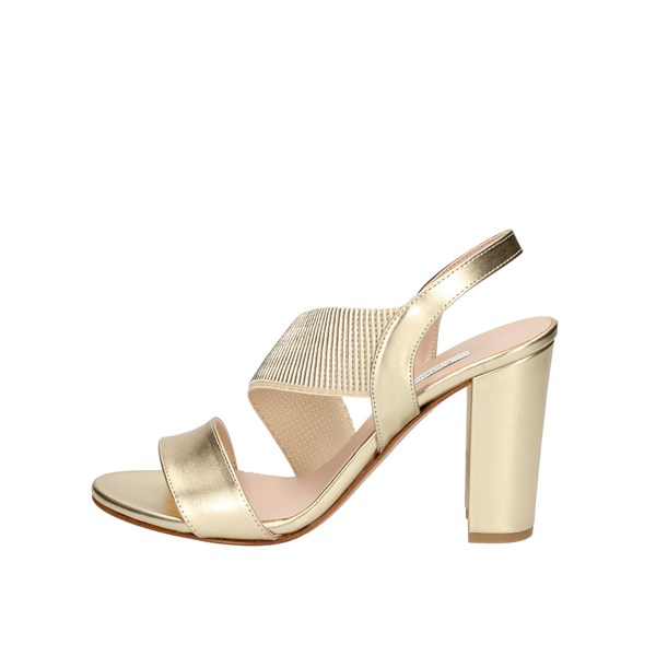 L amour by Albano With Heel Gold