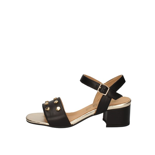 Igi e Co With Heel Black