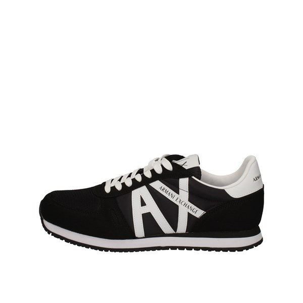 Armani Exchange low Black