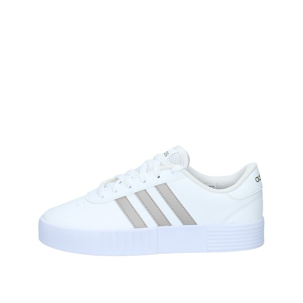 Adidas With Wedge White