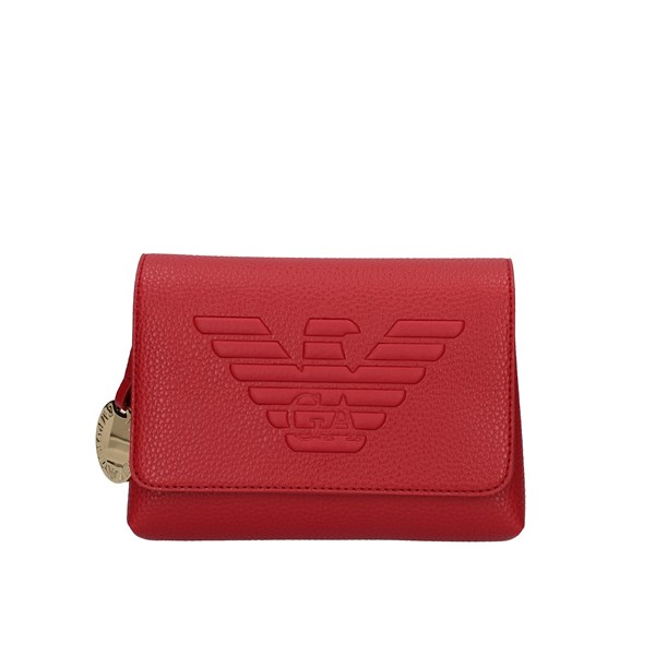 Emporio Armani Shoulder Bags Red