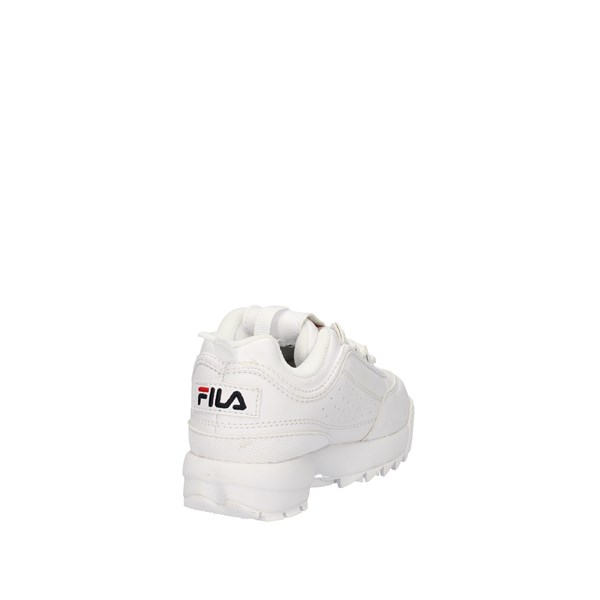 Fila Shoes Unisex Junior  low White DISTRUPTOR INFANTS 1010826.1FG