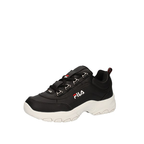 Fila Shoes Unisex Junior  low Black STRADA LOW KIDS 1010781.25Y