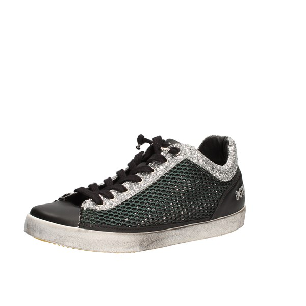 2star Shoes Woman  low Green 00116