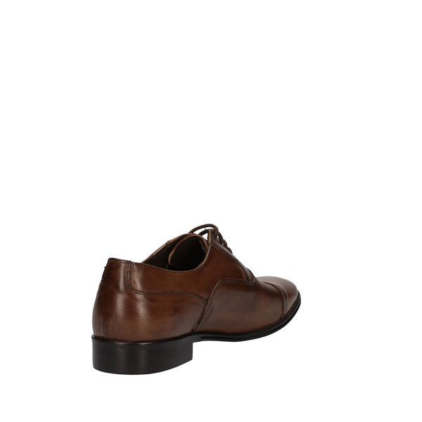 Struttura Shoes Man Lace up Brown 510L