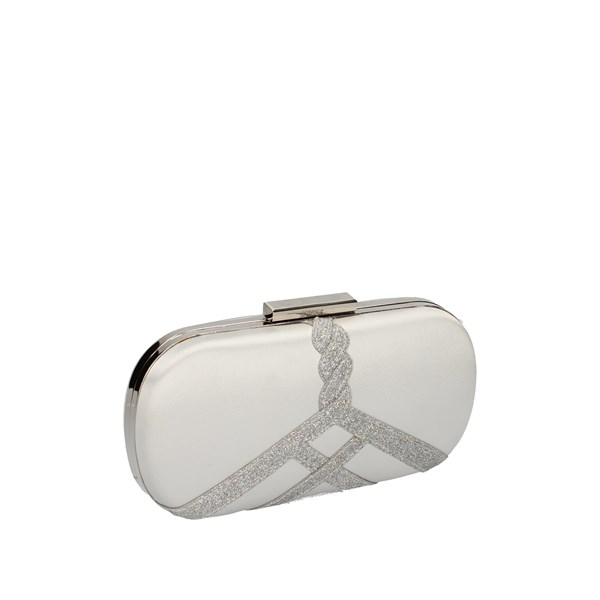 06 Milano Bags Woman Clutch bag Silver 01093