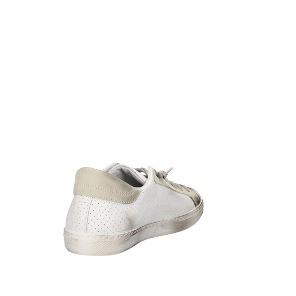 2star Shoes Man Low White 2su2401