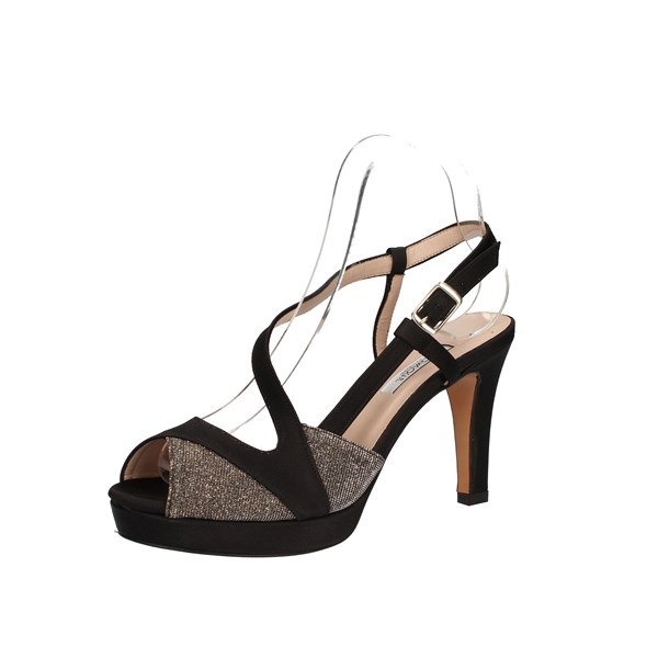 L amour by Albano Shoes Woman With heel Black A907