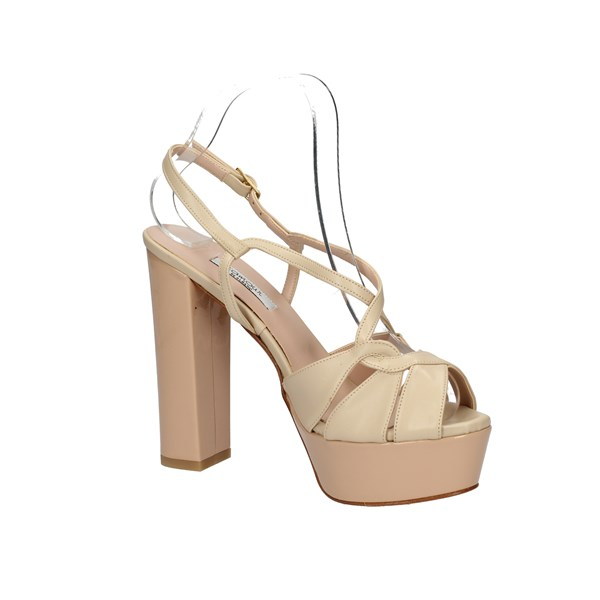 L amour by Albano Shoes Woman With heel Rose 01176