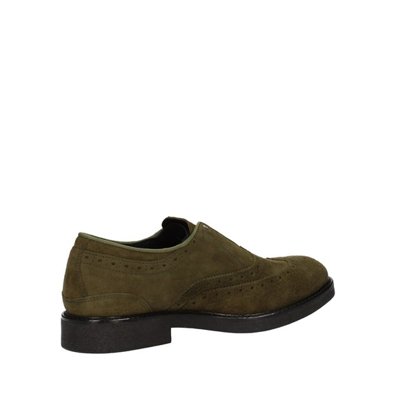 GOGO shoes Shoes Man Without Laces Green 00061