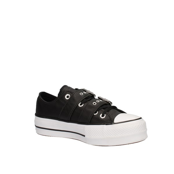 Converse Shoes Woman low Black 562835C