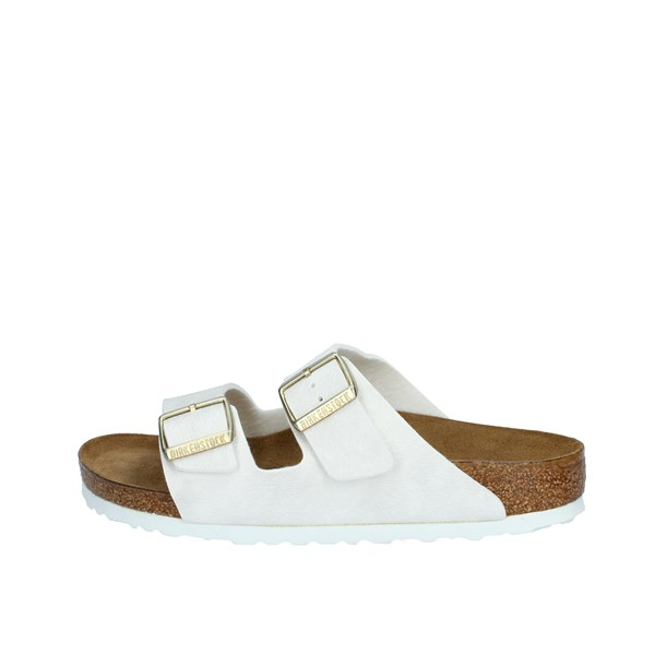 Birkenstock Shoes Woman Sandals White 1008668