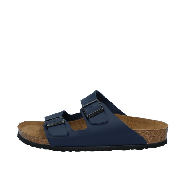Birkenstock Shoes Man Sandals Blue 0051753