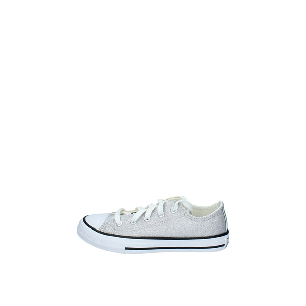 Converse Shoes Child Low Silver 668024C CHUCK TAYLOR