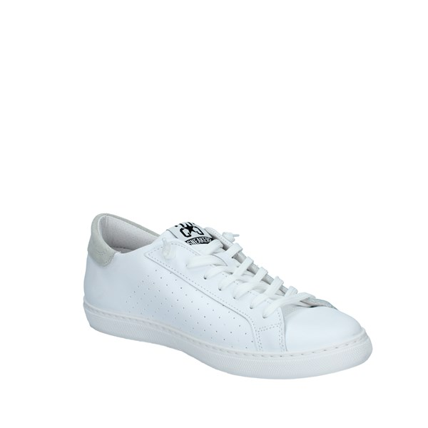 2star Shoes Man Low White 2SU2656