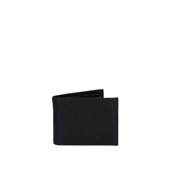 Acciaio Accessories Man Wallets Black 8105N