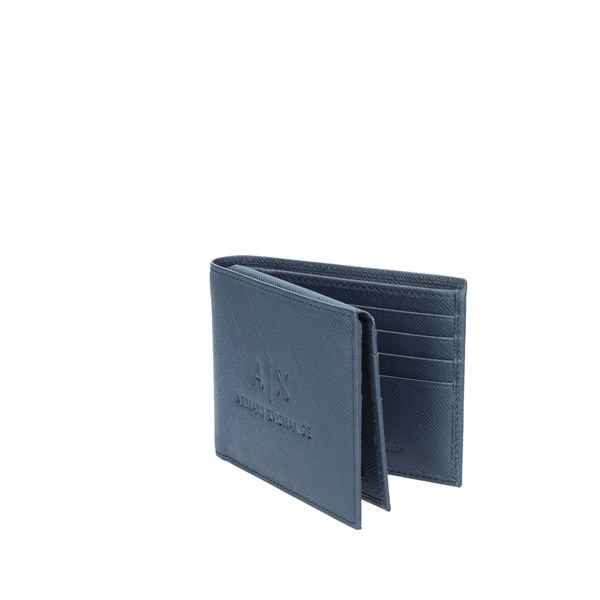 Armani Exchange Accessories Man Wallets Blue 958058 CC223 04939
