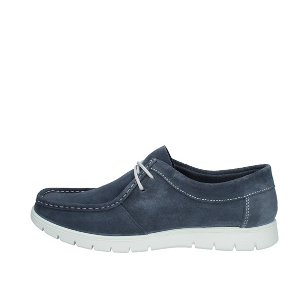 Igi e Co Shoes Man Loafers Blue 5115500