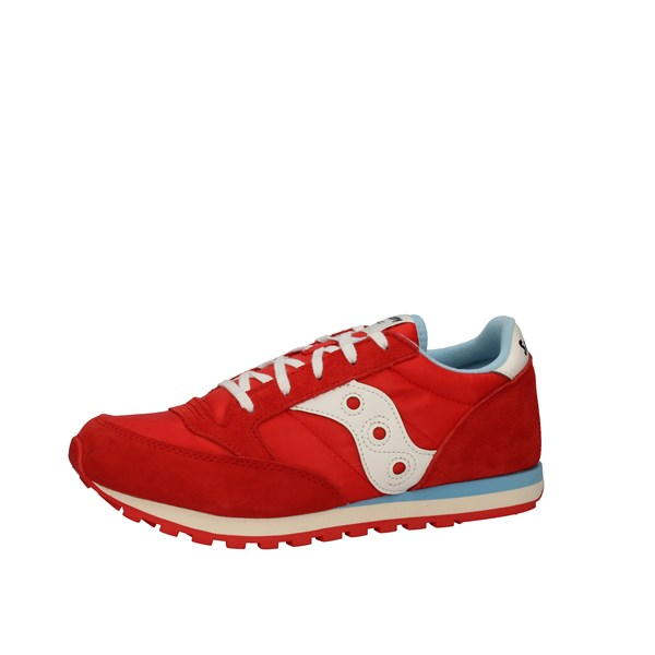 Saucony Shoes Woman low Red SK262479