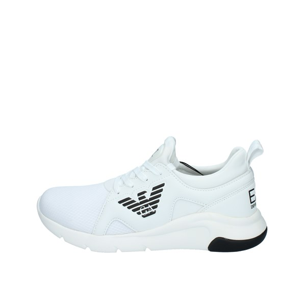 EA7 Shoes Unisex  low White X8X056 XCC56
