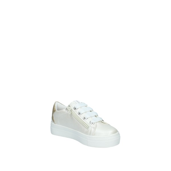 Cafè Noir Shoes Child With Wedge White C500