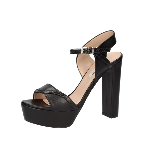 L amour by Albano Shoes Woman With Heel Black L'AMOUR 230