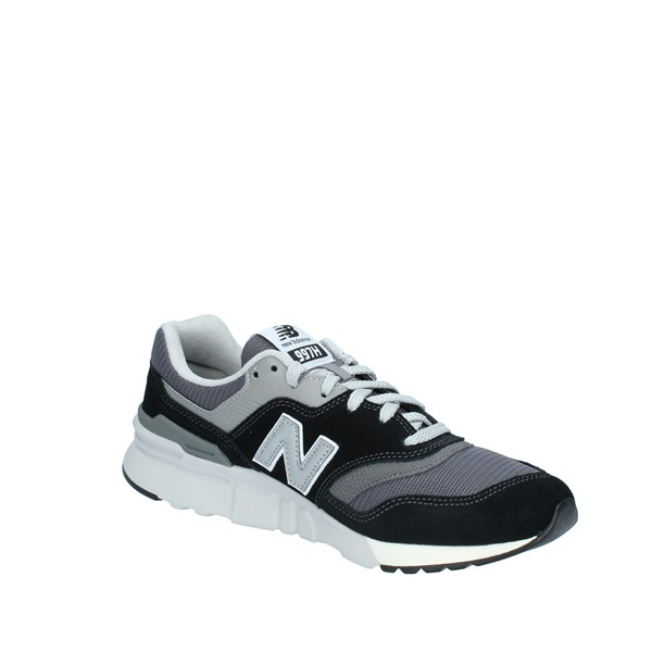 New Balance Shoes Man low Black CM997HBK