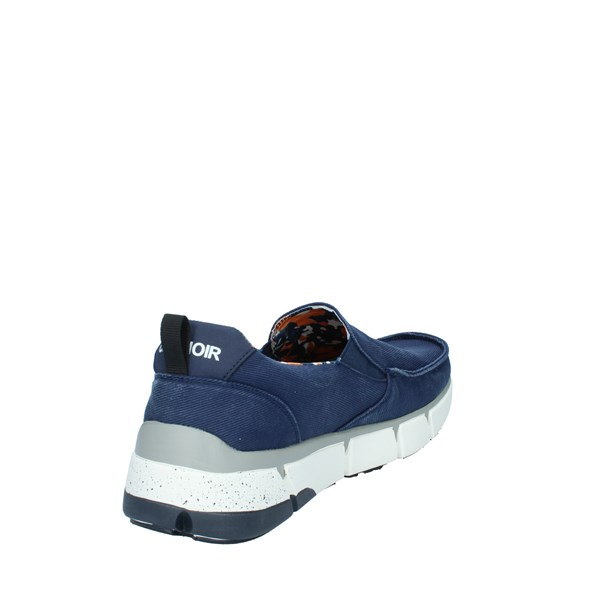 Cafè Noir Shoes Man Without laces Blue GTM932