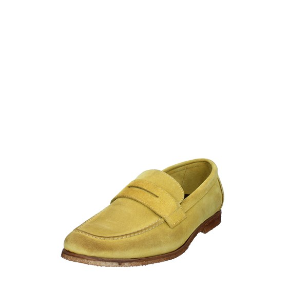 Struttura Shoes Man Moccasins Yellow 371