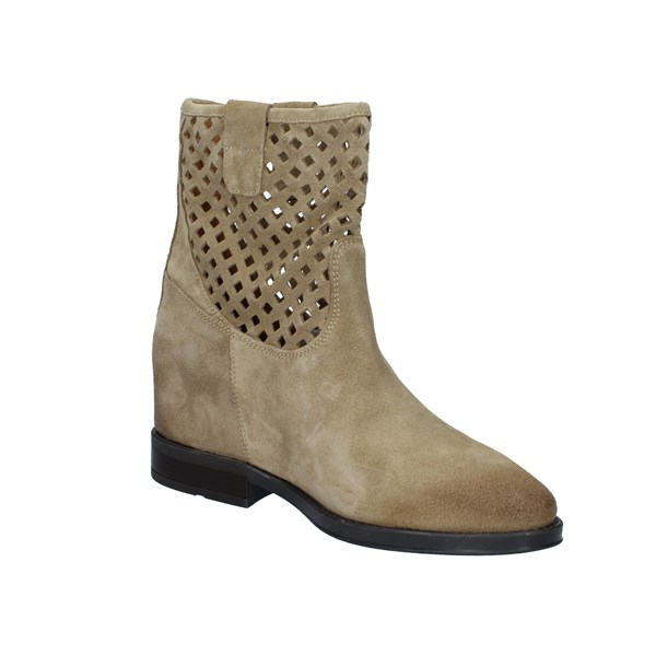 Cafè Noir Shoes Woman Ankle boots Beige GEB624
