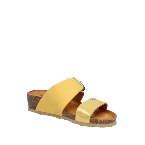 Igi e Co Shoes Woman With Wedge Yellow 5198233