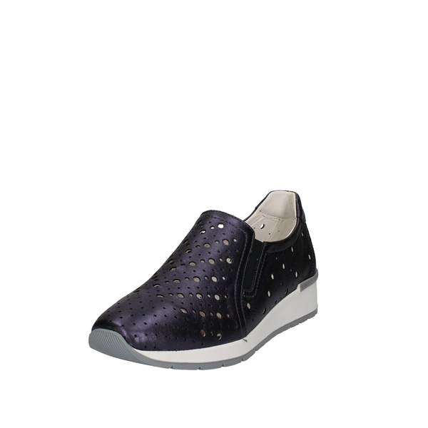 Cinzia Soft Shoes Woman Slip on Blue IV2403-MN