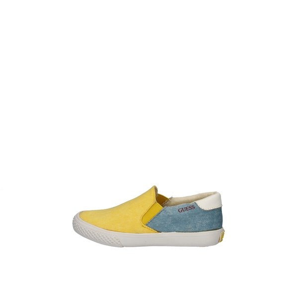 Guess Shoes Child Without Laces Yellow GUESS FIERI2FAB12 - BRYL