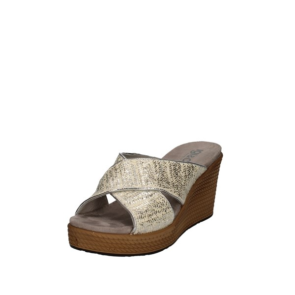 Igi e Co Shoes Woman With wedge Silver 5180744