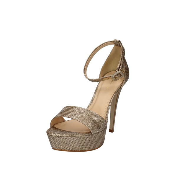 Tabita Shoes Woman With Heel Gold 0226708
