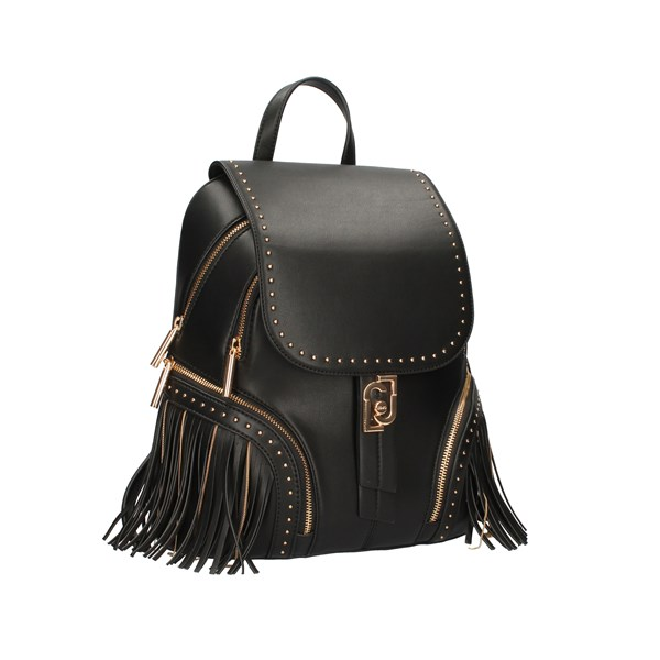 Liu Jo Bags Woman Backpacks Black AF0139 E0027
