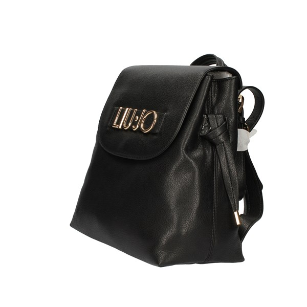 Liu Jo Bags Woman Backpacks Black AF0016 E0160