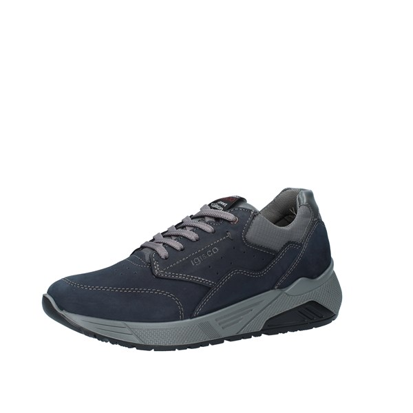 Igi e Co Shoes Man Low Blue 6142700