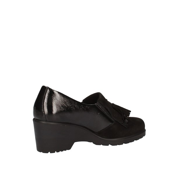 Enval Shoes Woman With Wedge Black 6276300