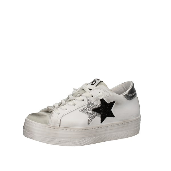 2star Shoes Woman Low White 2SD2853-009