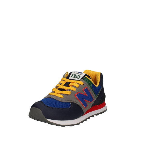 New Balance Shoes Man Low Blue ML574MD2