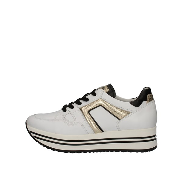 Nero Giardini Shoes Woman With Wedge White I013303D