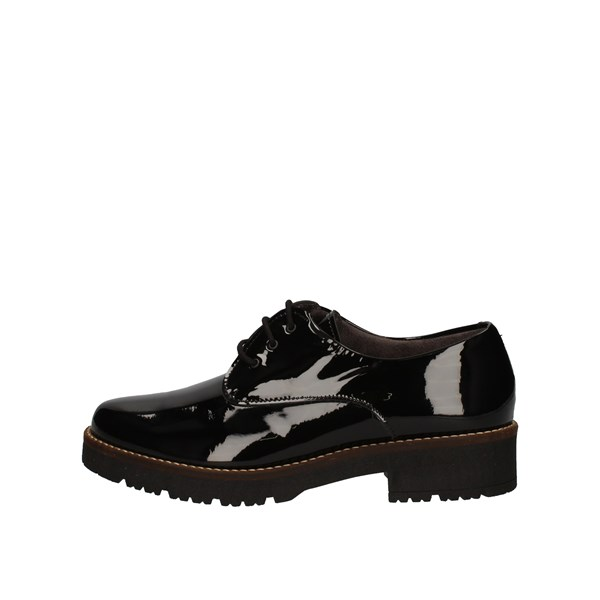 Pitillos Shoes Woman Derby Black 6420