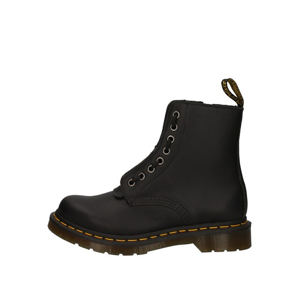 Dr Martens Shoes Woman Amphibians Black 1460 PASCAL FRNT ZIP 23863001
