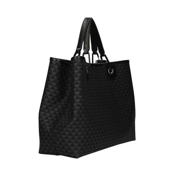 Emporio Armani Bags Woman Shopping Black Y3D165 YFG5X