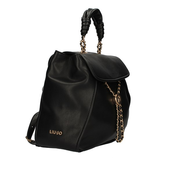 Liu Jo Bags Woman Backpacks Black AA1073 E0040