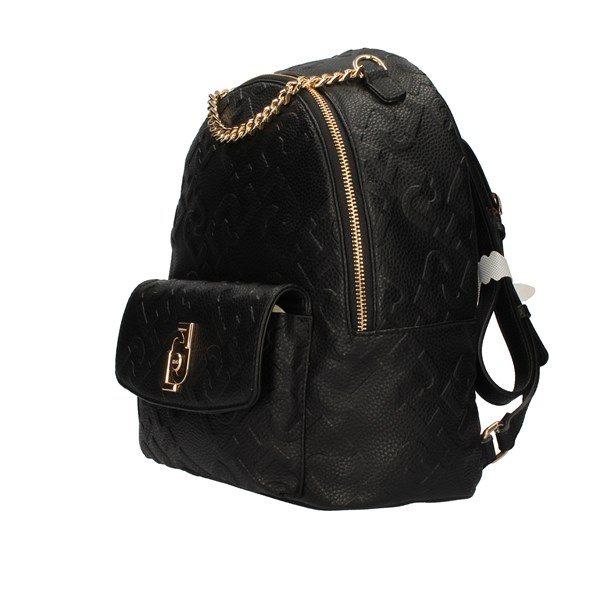 Liu Jo Bags Woman Backpacks Black AA1342 E0538